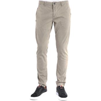 textil Hombre Pantalones chinos Gaudi 911BU25015 Gris