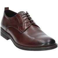Zapatos Hombre Derbie Exton 9553 Marrón