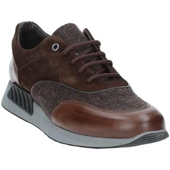 Zapatos Hombre Zapatillas bajas Exton 161 Marrón