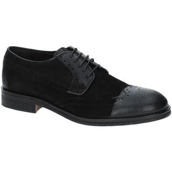 Zapatos Hombre Derbie Exton 5356 Negro