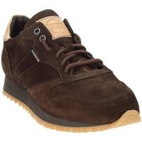 Zapatos Hombre Zapatillas bajas Exton 777 Marrón