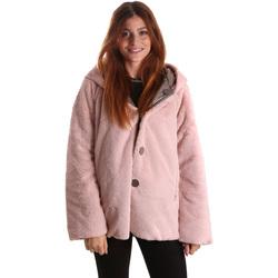 textil Mujer Parkas Byblos Blu 689104 Rosado