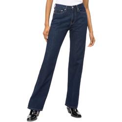 textil Mujer Vaqueros rectos Calvin Klein Jeans J20J207612 Azul
