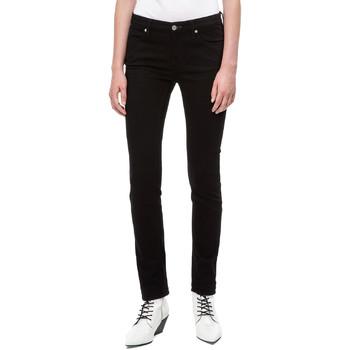 textil Mujer Vaqueros slim Calvin Klein Jeans J20J208292 Negro