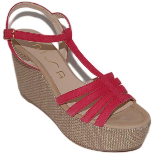 Zapatos Mujer Sandalias Unisa Sandálias Lusono Rosa