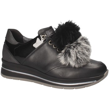 Zapatos Mujer Zapatillas bajas Grunland SC3944 Negro