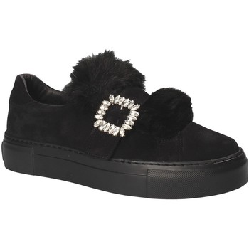 Zapatos Mujer Slip on Grunland SC4007 Negro