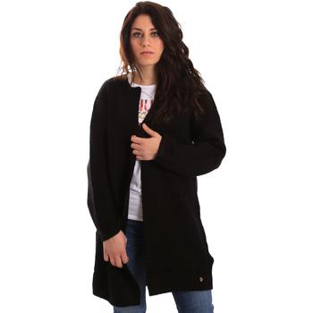 textil Mujer Chaquetas de punto Gaudi 821BD53024 Negro