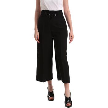 textil Mujer Pantalones fluidos Gaudi 821FD25001 Negro