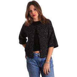 textil Mujer Chaquetas de punto Gaudi 821FD53044 Negro