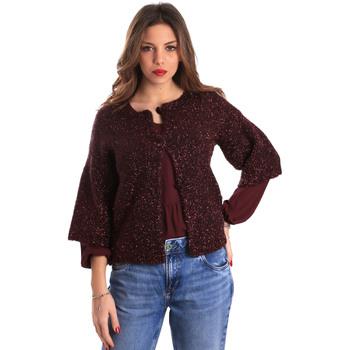 textil Mujer Chaquetas de punto Gaudi 821FD53044 Rojo