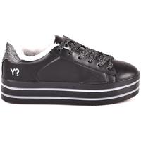 Zapatos Mujer Zapatillas bajas Y Not? W18 52 YW 710 Negro