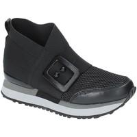 Zapatos Mujer Zapatillas altas Apepazza RSD19 Negro