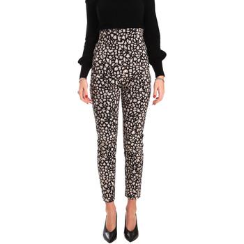 textil Mujer Pantalones fluidos Denny Rose 821DD20012 Negro