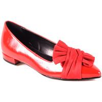 Zapatos Mujer Bailarinas-manoletinas Grace Shoes 2216 Rojo