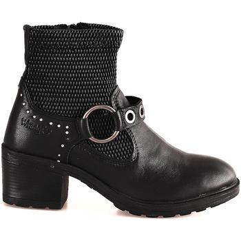 Zapatos Mujer Botines Wrangler WL182550 Negro