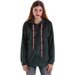 textil Mujer Sudaderas Key Up 5CS91 0001 Verde