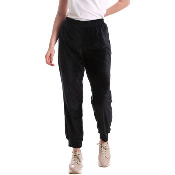 textil Mujer Pantalones fluidos Key Up 5CS55 0001 Azul