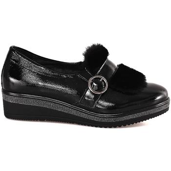 Zapatos Mujer Mocasín Grunland SC3148 Negro