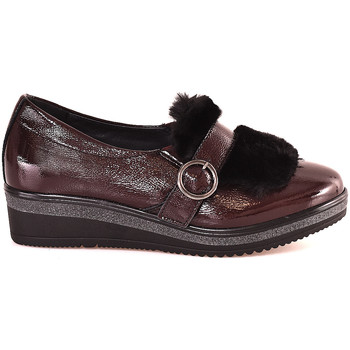 Zapatos Mujer Mocasín Grunland SC3148 Rojo