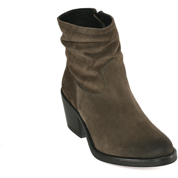 Zapatos Mujer Botines Mally 5341 Verde