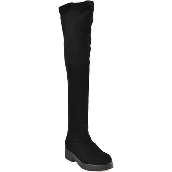 Zapatos Mujer Botas a la rodilla Mally 6311 Negro