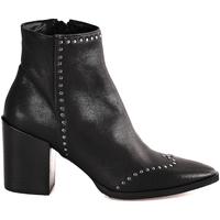 Zapatos Mujer Botines Mally 6333 Negro