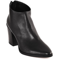 Zapatos Mujer Botines Mally 6341 Negro