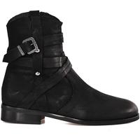 Zapatos Mujer Botines Mally 6431 Negro