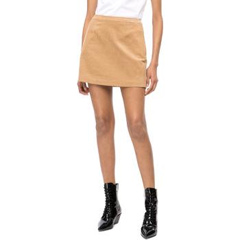 textil Mujer Faldas Calvin Klein Jeans J20J208503 Beige