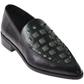 Zapatos Mujer Mocasín Elvio Zanon I7703G Negro