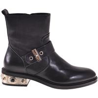 Zapatos Mujer Botines Elvio Zanon I8405P Negro