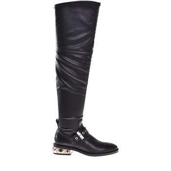 Zapatos Mujer Botas urbanas Elvio Zanon I8406P Negro