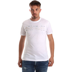 textil Hombre Camisetas manga corta Navigare NV31081 Blanco