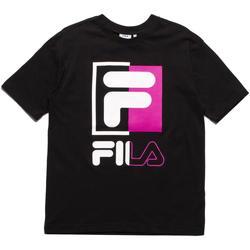 textil Hombre Camisetas manga corta Fila 687475 Negro