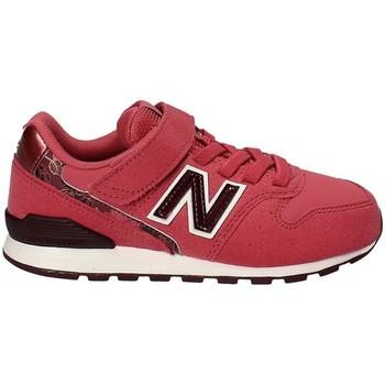 Zapatos Niños Zapatillas bajas New Balance NBKV996F2Y Rojo