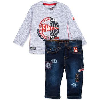 textil Niño Conjunto Losan 827-8013AC Azul