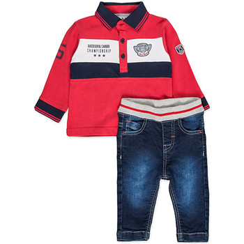textil Niño Conjunto Losan 827-8032AC Rojo