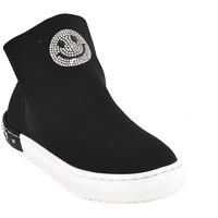 Zapatos Niños Zapatillas altas Holalà HS0015T0002J Negro