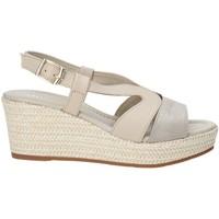 Zapatos Mujer Sandalias Valleverde 32211 Beige