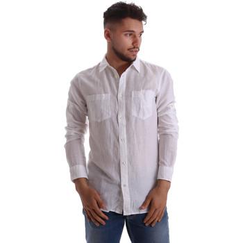 textil Hombre Camisas manga larga Gas 151150 Blanco