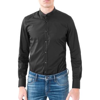 textil Hombre Camisas manga larga Antony Morato MMSL00376 FA450001 Negro