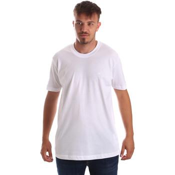 textil Hombre Camisetas manga corta Key Up 2M915 0001 Blanco