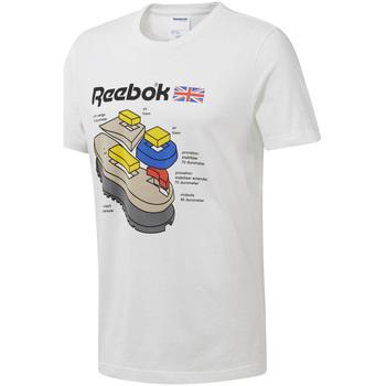 textil Hombre Camisetas manga corta Reebok Sport DT8122 Blanco