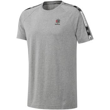textil Hombre Camisetas manga corta Reebok Sport DT8146 Gris