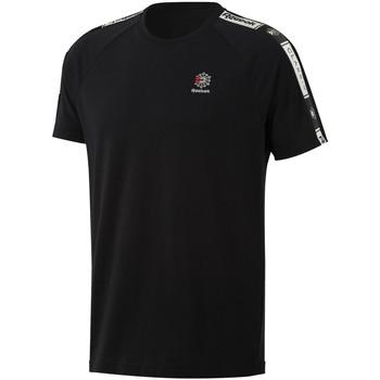 textil Hombre Camisetas manga corta Reebok Sport DT8147 Negro