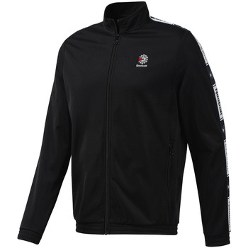 textil Hombre Chaquetas de deporte Reebok Sport DT8150 Negro