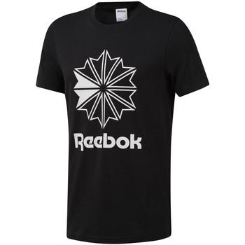 textil Hombre Camisetas manga corta Reebok Sport DT8171 Negro