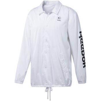 textil Hombre Chaquetas de deporte Reebok Sport DT8203 Blanco