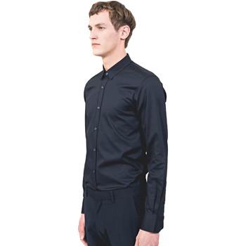textil Hombre Camisas manga larga Antony Morato MMSL00525 FA440012 Azul